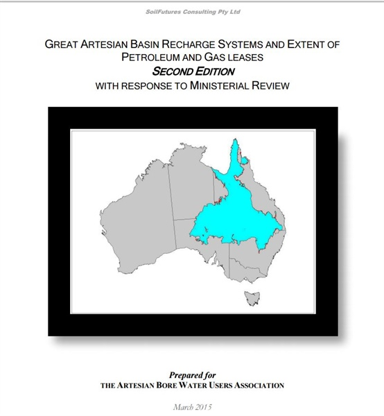 Great Artesian Basin Recharge Systems and Extent Of petroleum and Gas Leases