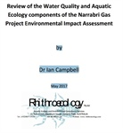 Review of the Water Quality and Aquatic Ecology components of the Narrabri Gas Project Environmental Impact Assessment